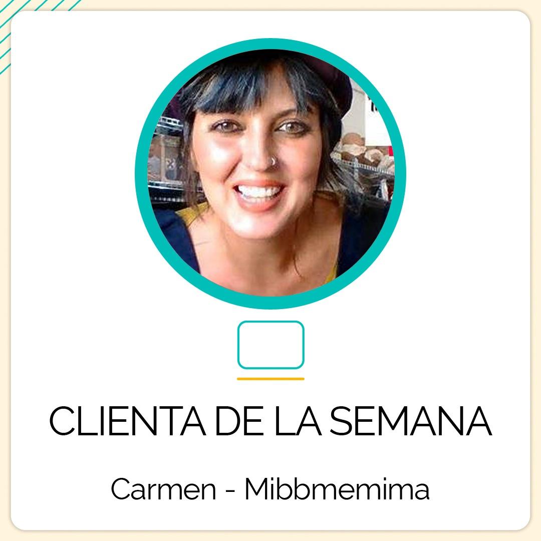 Carmen Curtido, la responsable de la tienda Mibbmemima, es la Clienta de la Semana en Informática de Cabecera